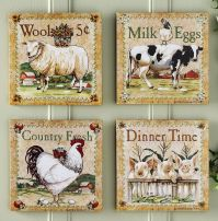 farm animal kitchen decor