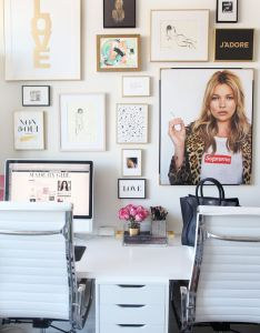 Decorate your workspace in style with these decor ideas also office gallery wall home pinterest rh