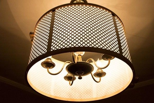 Knuckle Salad S Diy Drum Shade Tutorial For Ceiling Fixtures And