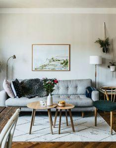 Nook small apartment flat interior design natural scandi also scandig rh pinterest