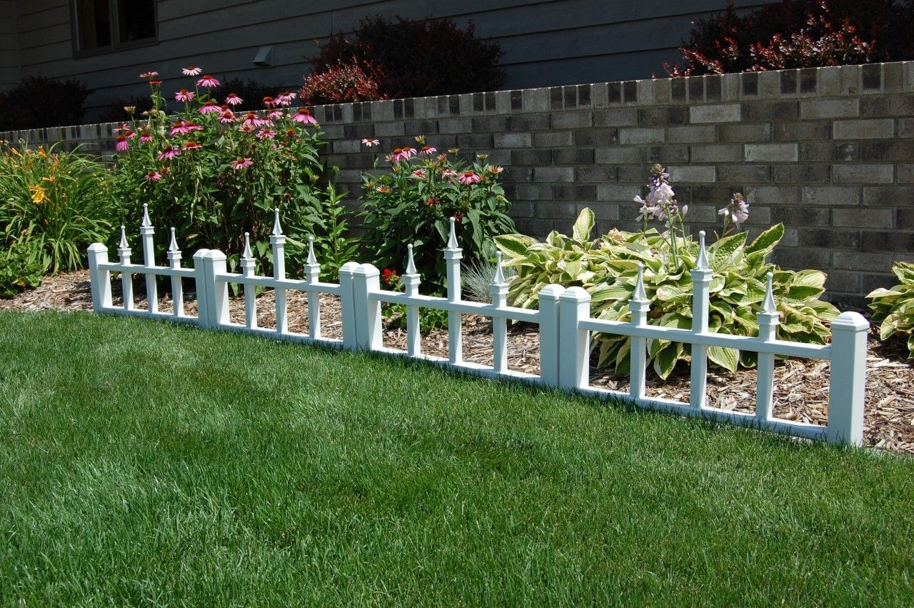 Fencing With Floral Borders