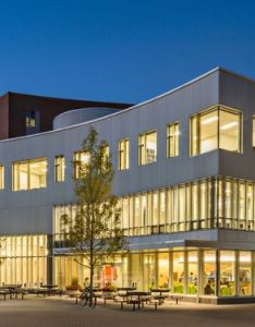 Architecture terrific top architects by william rawn commonwealth honors exterior building design ideas showing the light from inside also college university of massachusetts amherst rh pinterest