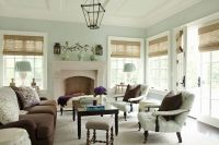 WALL COLOR Seafoam Green Living Room, Traditional, living ...