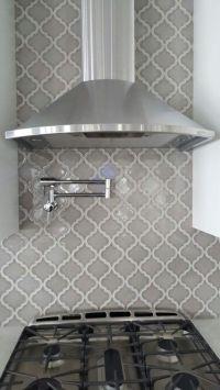 Arabesque Grey Kitchen Backsplash by: cs4flooring.com ...