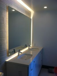 Back lit mirror | Clients projects | Pinterest | Powder ...