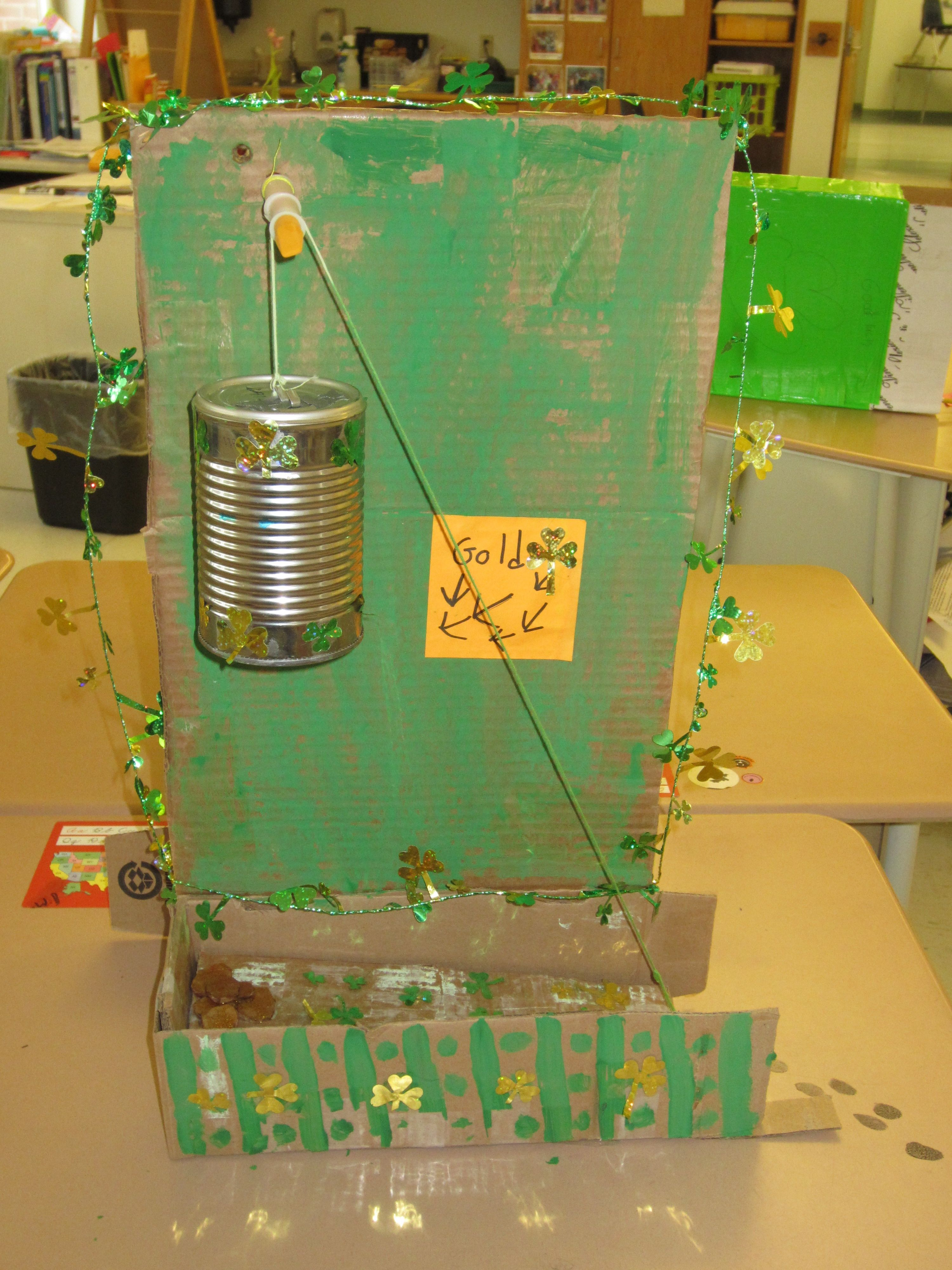 Leprechaun Traps Using 2 Simple Machines March Tinkering