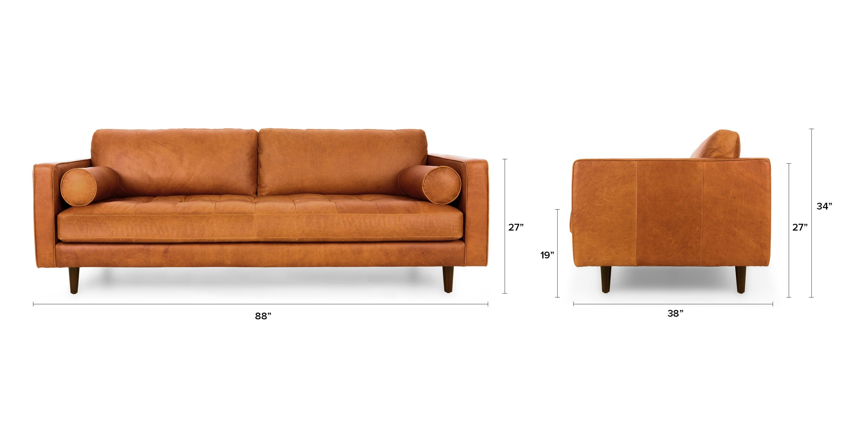 tan leather sofa and loveseat cream removable covers brown italian article sven