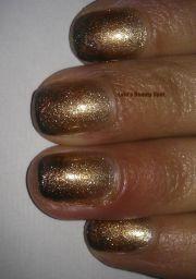 gold brown bronze gradient ombre