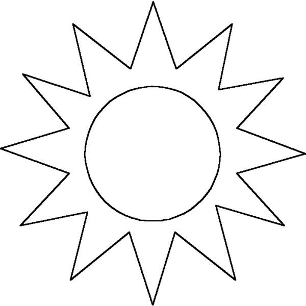 sun outline liked on Polyvore featuring fillers, outlines