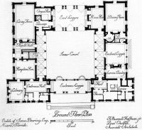 u shaped house plans with central courtyard - Google ...