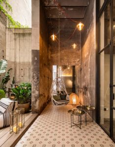 This beautiful studio art gallery situated in barcelona spain was designed by meritxell ribe  the room description bymeritxell also espai paris design rh pinterest