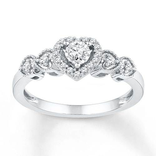 Famous Kay Jewelers Promise Rings Options for Valentine