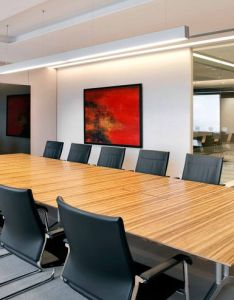 Office design by  moser associates furnished with sito cantilever chair and logon table also designs rh za pinterest