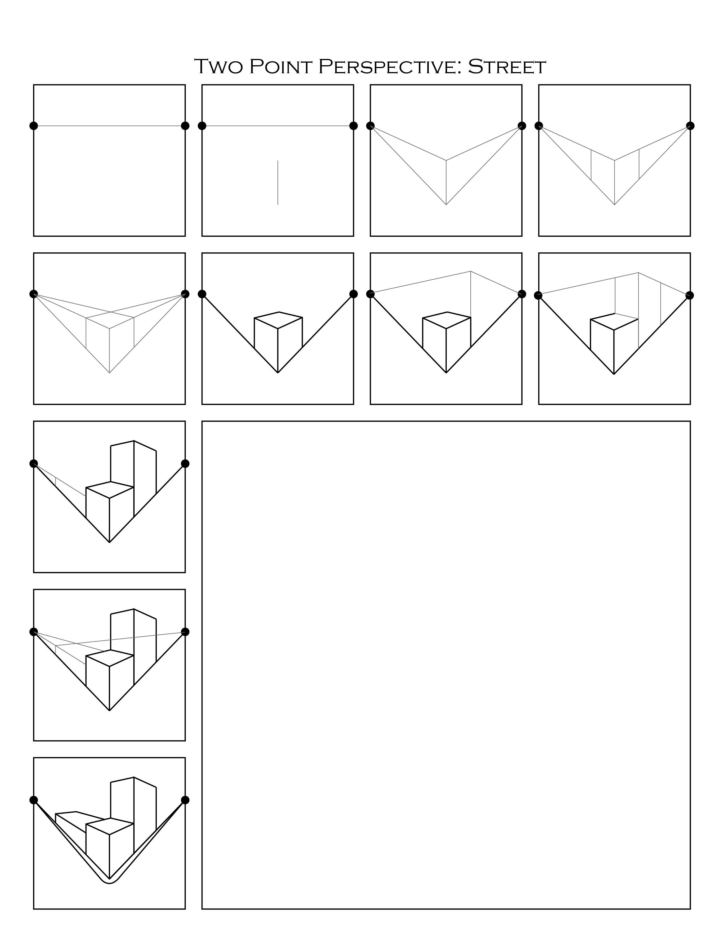 Two Point Perspective Question