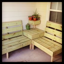 Diy Patio Furniture. Perfect Size