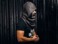 Scarves for men / Hooded scarf / Scarf with hood ...