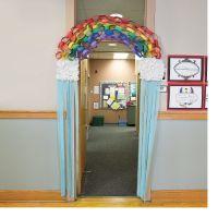 Rainbow Door Decoration Idea - OrientalTrading.com | Kids ...