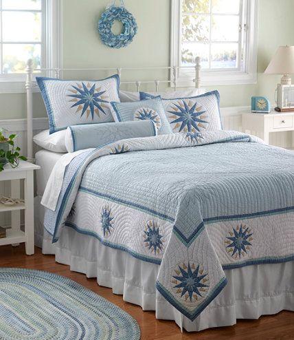 LLBean Compass Quilt  Bedrooms by LLBean  Pinterest