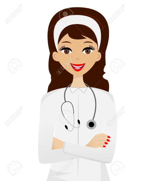 woman doctor clipart - google