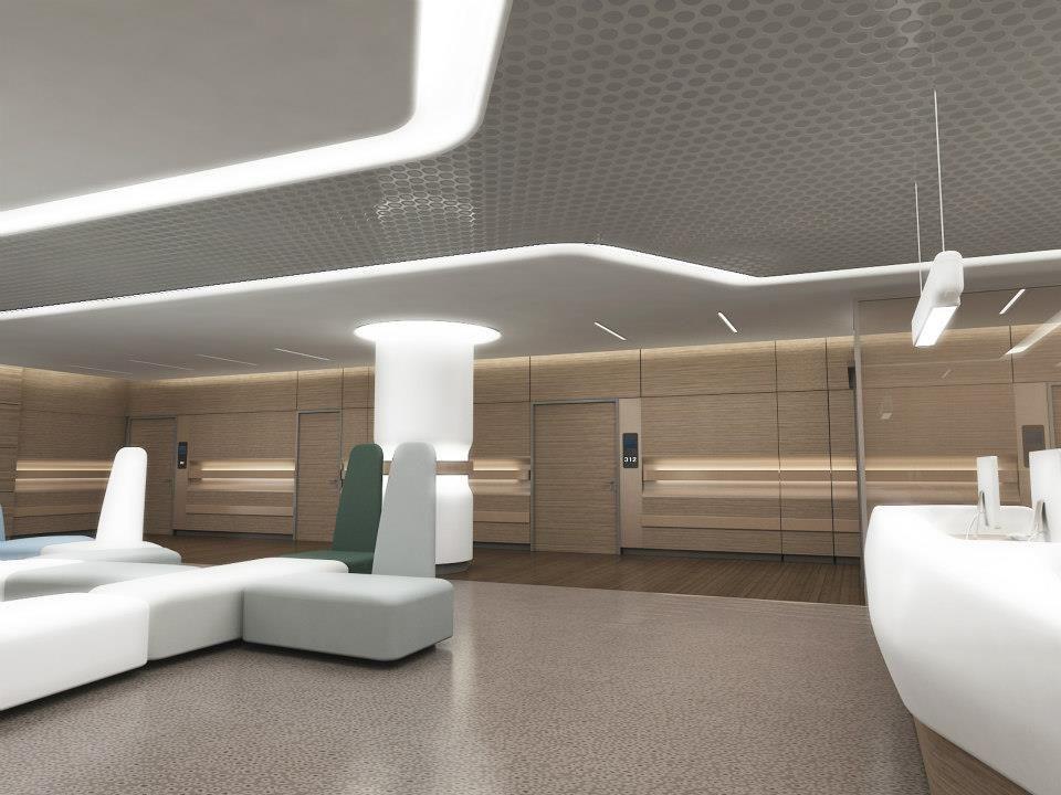 LIV HOSPITAL ULUS Waiting Hallarea By ZoomTPU HEALTHCARE Pinterest Hall Healthcare