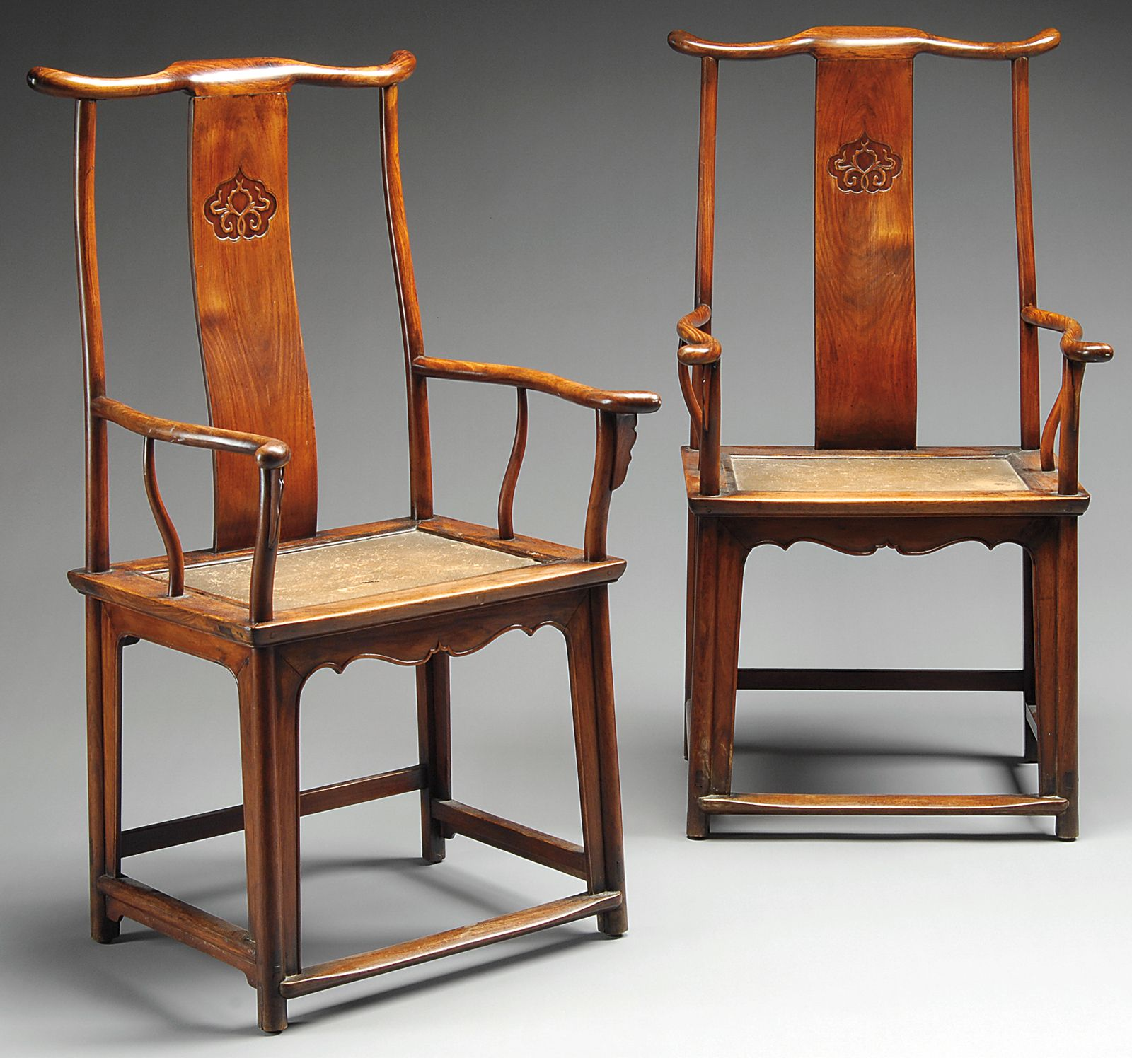 Chinese Chair Huanghuali Yoke Back Chairs Asian Art Pinterest