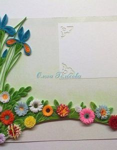 How to make quilling frame this work very simple but with  little effort you get wonderful  made by your own hands materials for  also related image pepar qulling pinterest rh