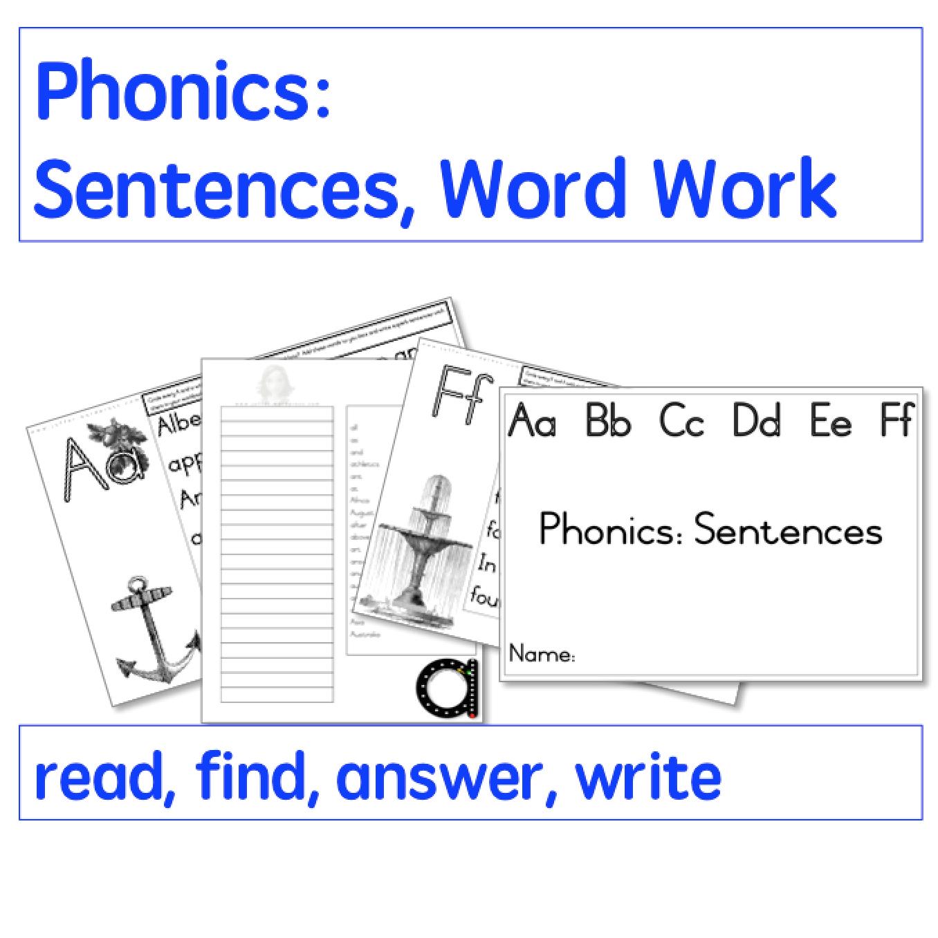 Phonics Sentences And Word Lists