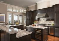 50 High-End Dark Wood Kitchens (Photos) | Dark wood ...
