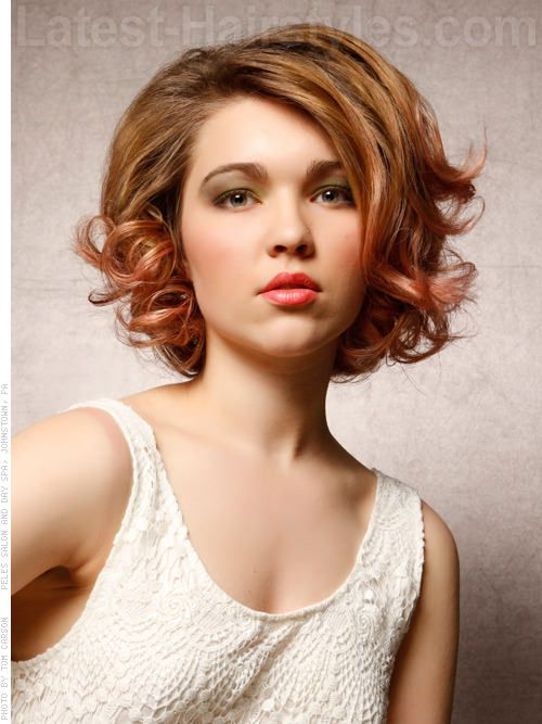 The 15 Most Flattering Haircuts For Round Faces Hair Beauty And