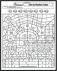My free preschool math worksheets will help teach counting