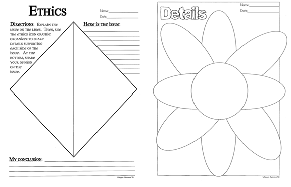 Here's a series of graphic organizers for Big Idea