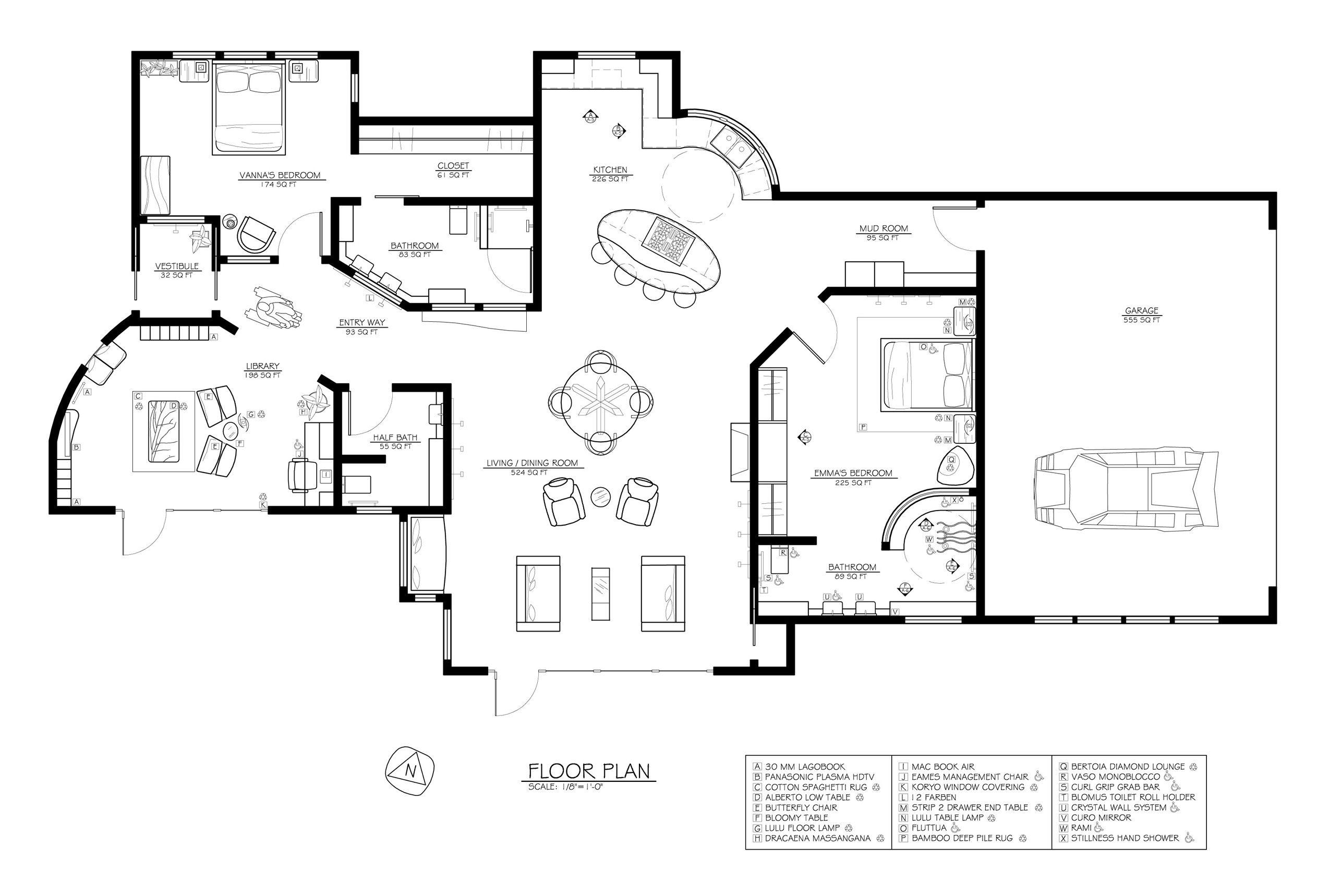 Passive Solar House Plans ADA Plan 1 Bedroom Pinterest House