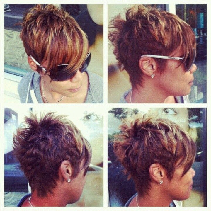 Short Haircuts Long In Front Short In Back Google Search Hair