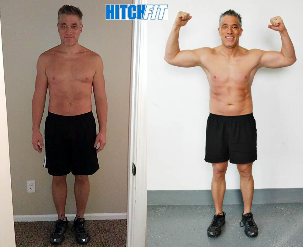 Steve Drops over 50lbs of fat then Build Muscle | Weight ...