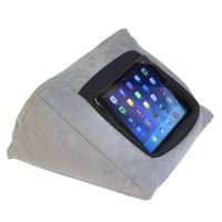 iPad Cushion Pillow Stand Holder (GREY) for iPad and other ...