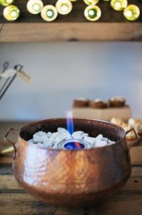 DIY Indoor Tabletop Fire Pit for S'mores | Desserts ...