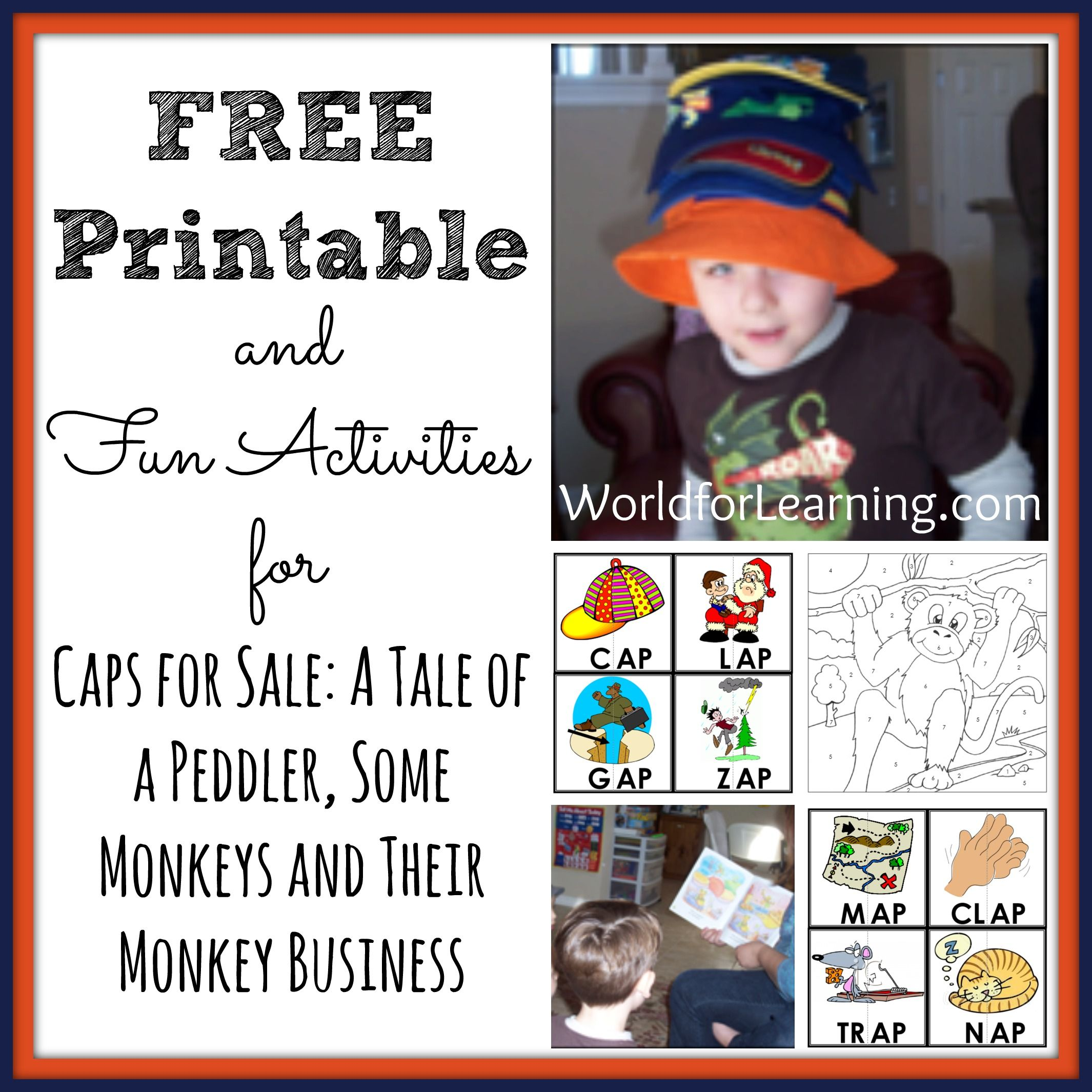 Caps For Sale Free Printable