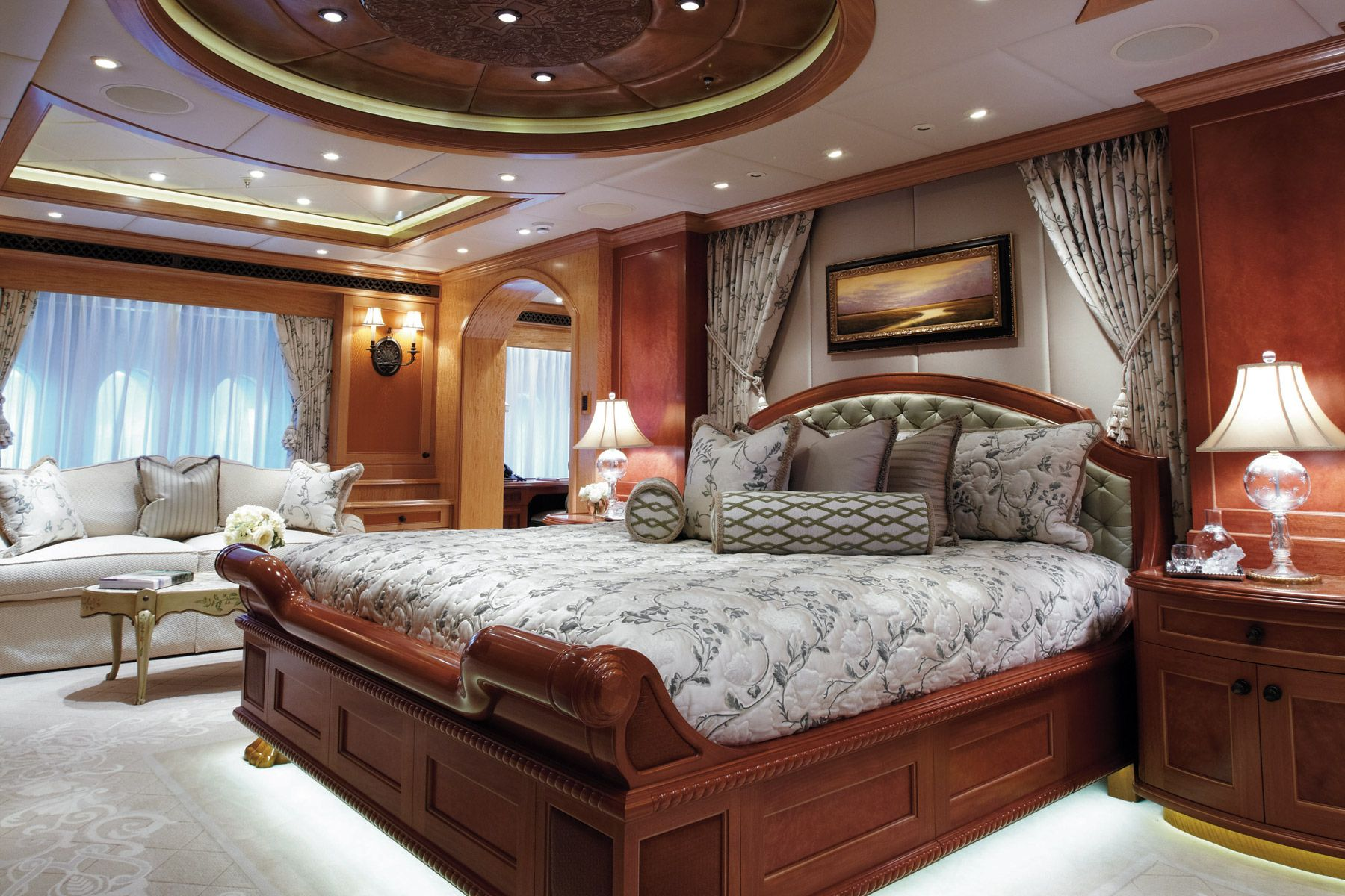 Yacht Bedrooms Experience Yachts Services Team Contact
