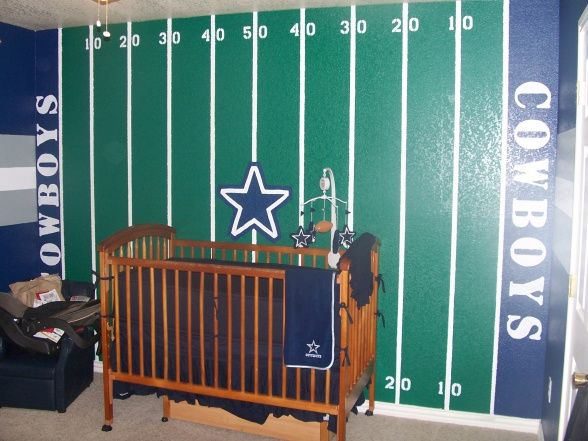 20 Boys Football Room Ideas Dallas cowboys nursery