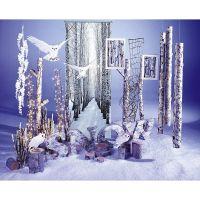 Ein verzauberter Winterwald für Ihr Schaufenster Mit ...