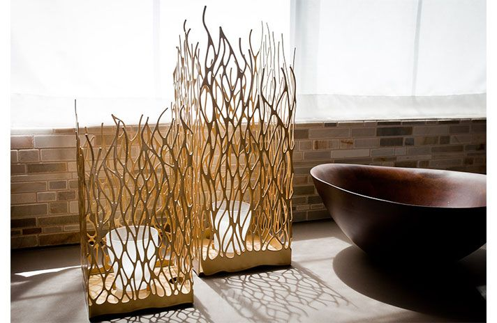 Amazing Work On Those Bamboo Lamp Bamboo Design Pinterest