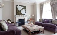 How To Match A Purple Sofa To Your Living Room Dcor ...