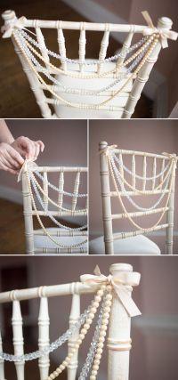 7 Charming DIY Wedding Decor Ideas We Love   Wedding chair ...