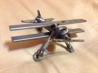 Airplane metal art | My projects | Pinterest | Airplanes ...