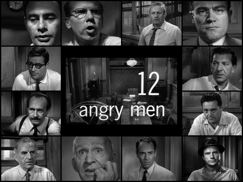 12 Angry Men Collage