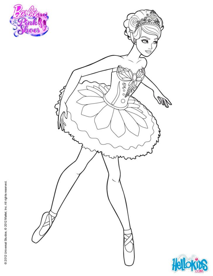 Animals And Flowers: Coloring Pages Printable Barbie. Widescreen Coloring Pages Printable Barbie For Paw Patrol Laptop High Resolution Giselle Main Character Of The Ballet Barbie