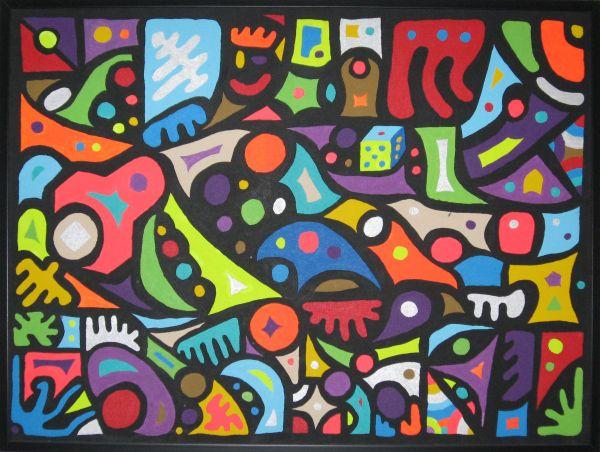 Shape Art Paintings