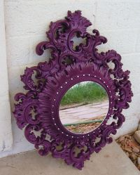 Best 25+ Purple wall mirrors ideas on Pinterest | Purple ...