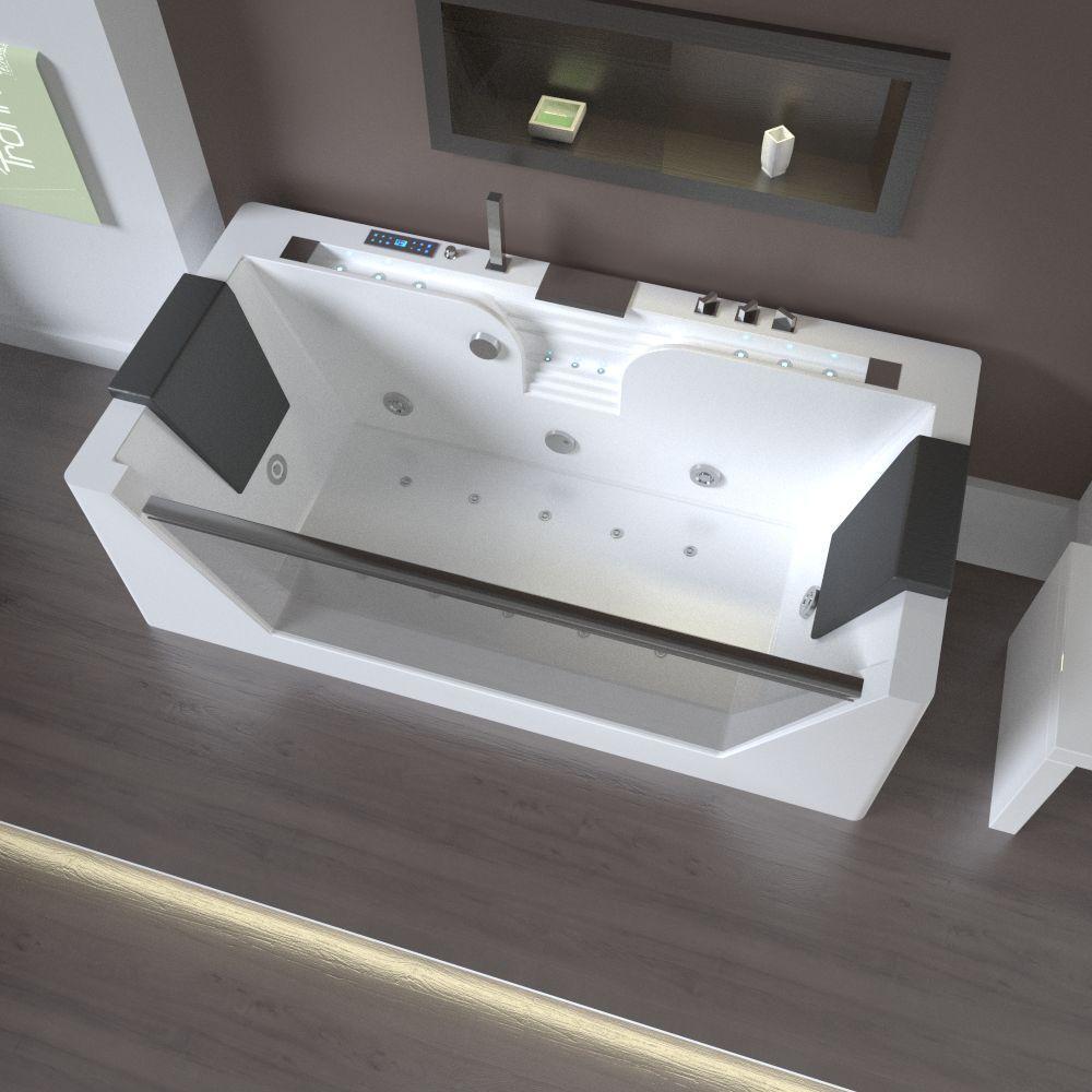 TroniTechnik Design LUXUS Whirlpool Badewanne Wanne Jacuzzi Pool Spa Acryl NEU  Home Work