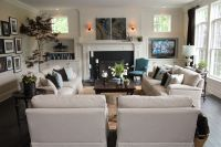 Love this furniture & layout for the family room. | For ...